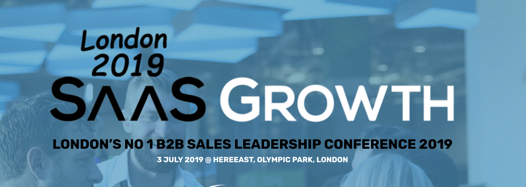 10 reasons why you need to be at SaaSGrowth 2019 - Sales Confidence