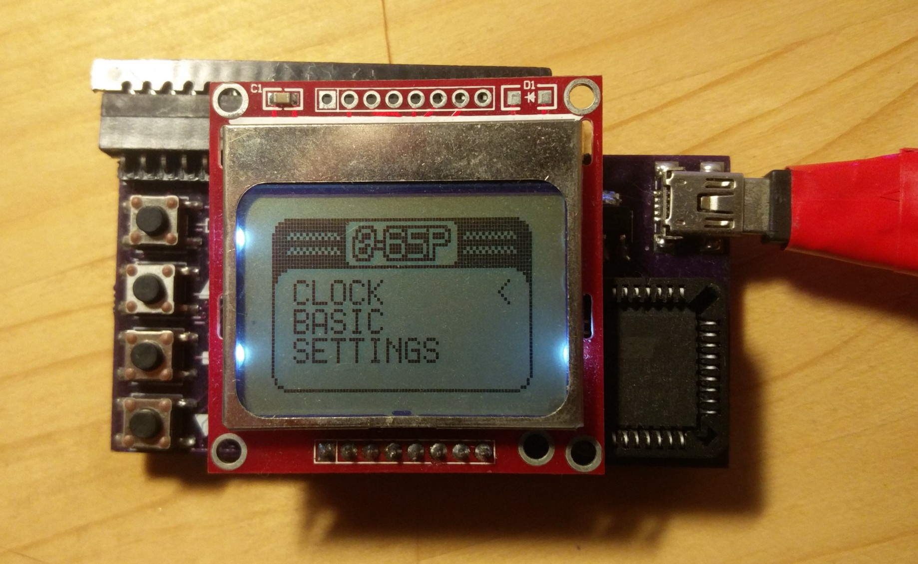 Build a Wearable Watch Using a 6502 8-Bit Microprocessor