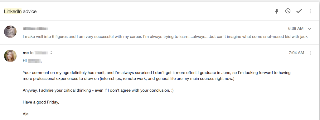 How to Respond to a Terrible, Horrible, No Good, Very Bad Email