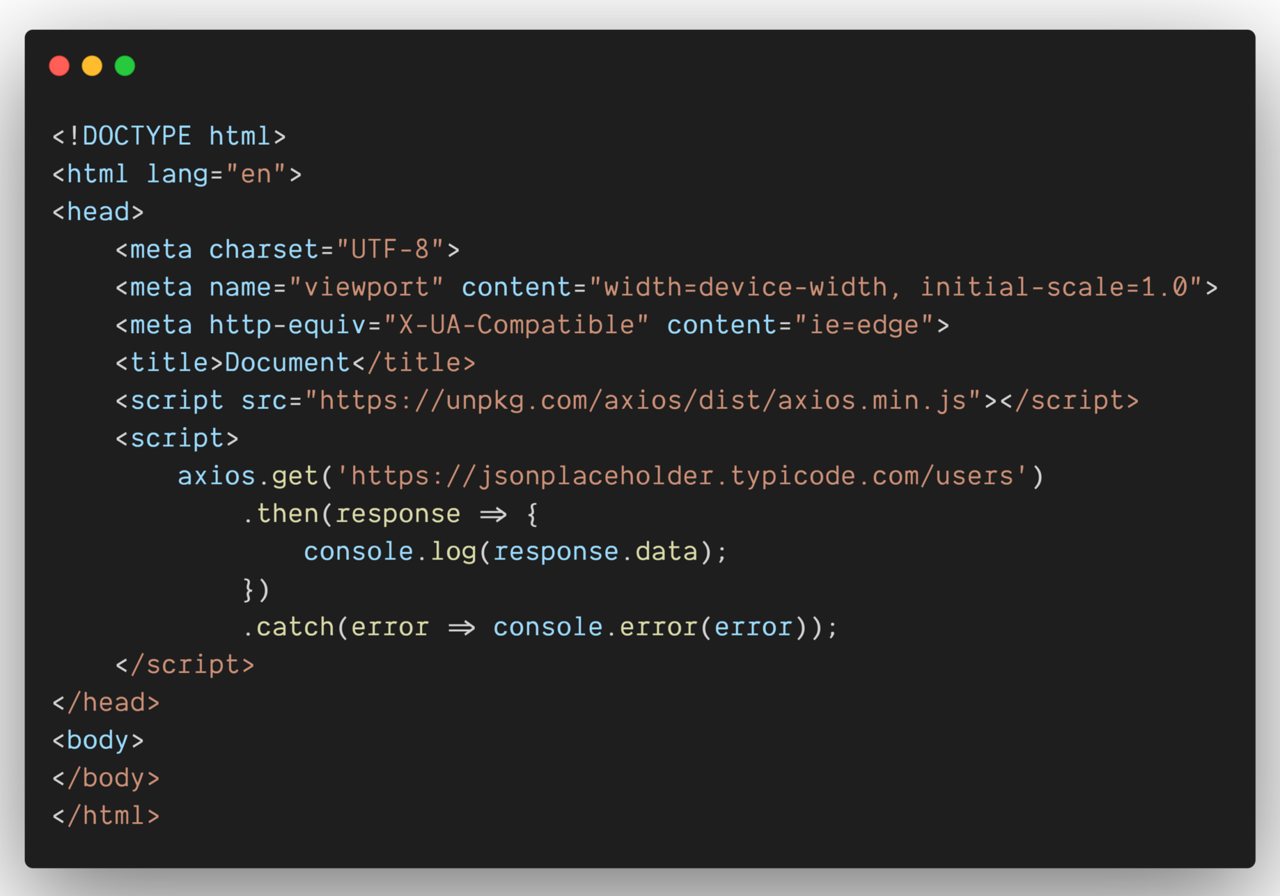 All possible ways of making an API call in JavaScript.   by ...