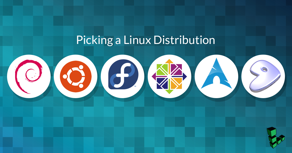Picking a Linux Distribution: Beginner - Linode Cube - Medium
