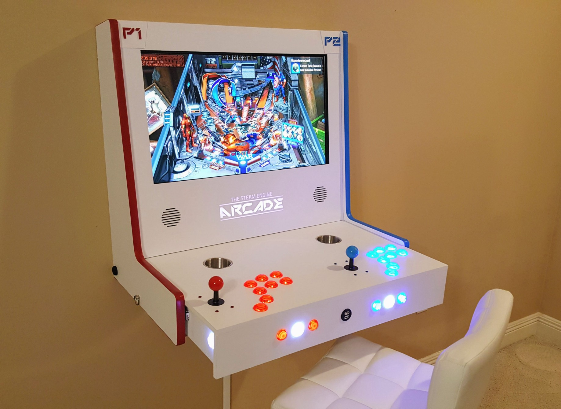 Check Out This Gorgeous Steam Link-Based Arcade Cabinet