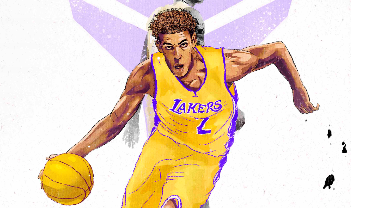 7478e043 The Lakers are stuck between a rock and a hard place as Lonzo Ball, the  proclaimed future face of the franchise, has struggled to live up to the  inflated ...