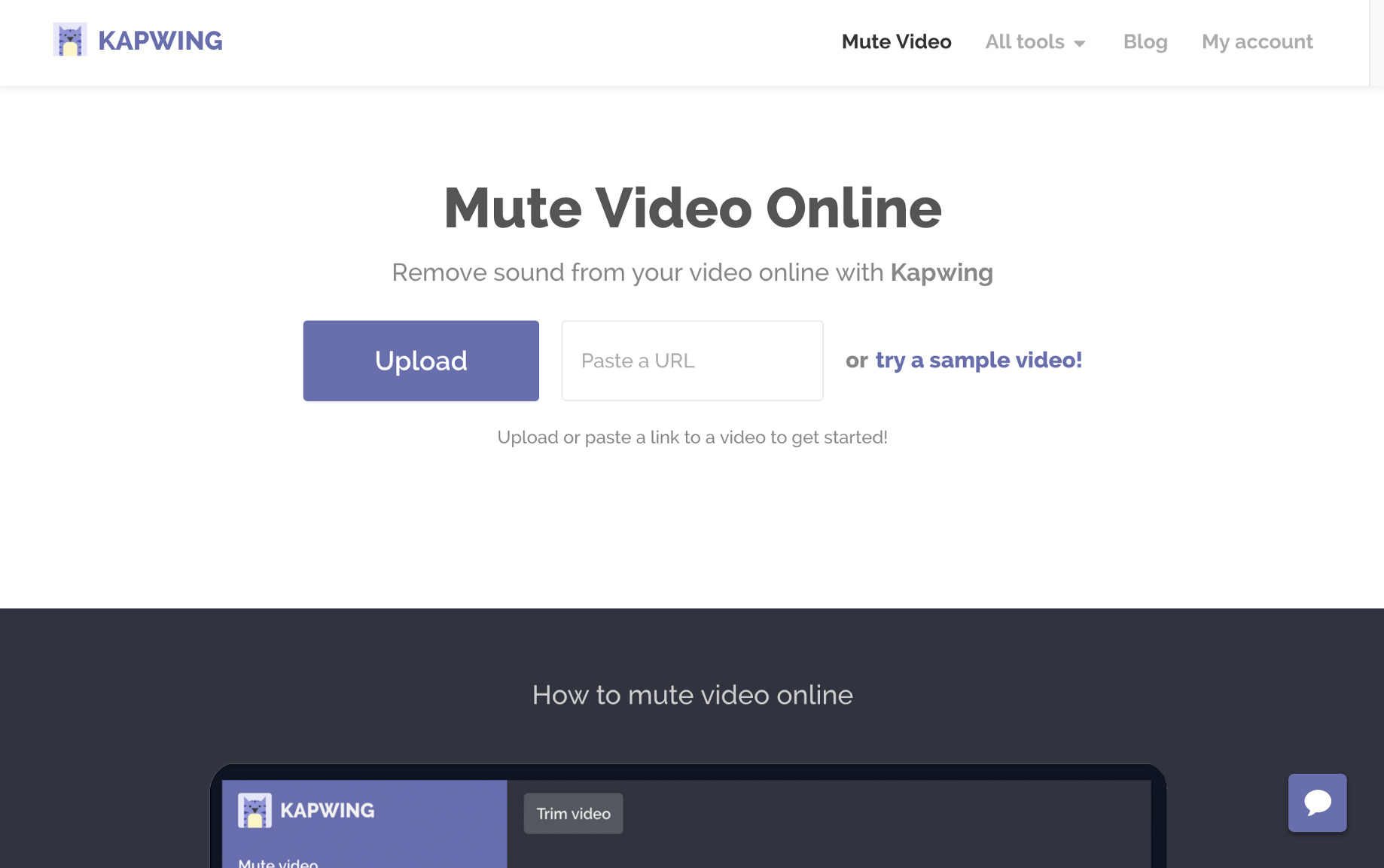 How to remove audio from video online - Kapwing - Medium