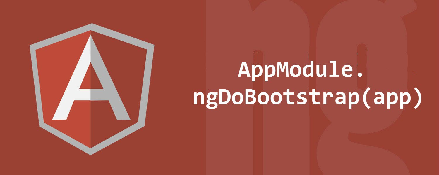How to manually bootstrap an Angular application - Angular In Depth
