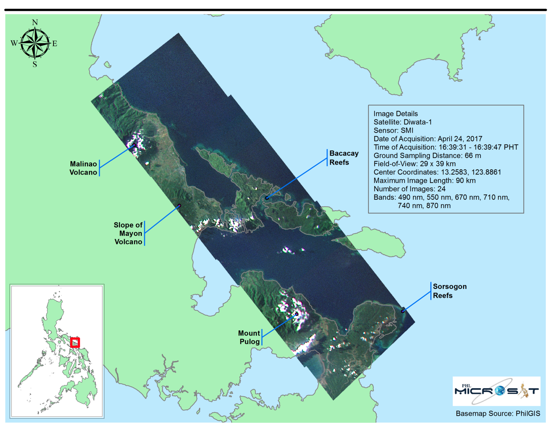 Bicol: A Region Shaped by Volcanic Activity - PHL-Microsat
