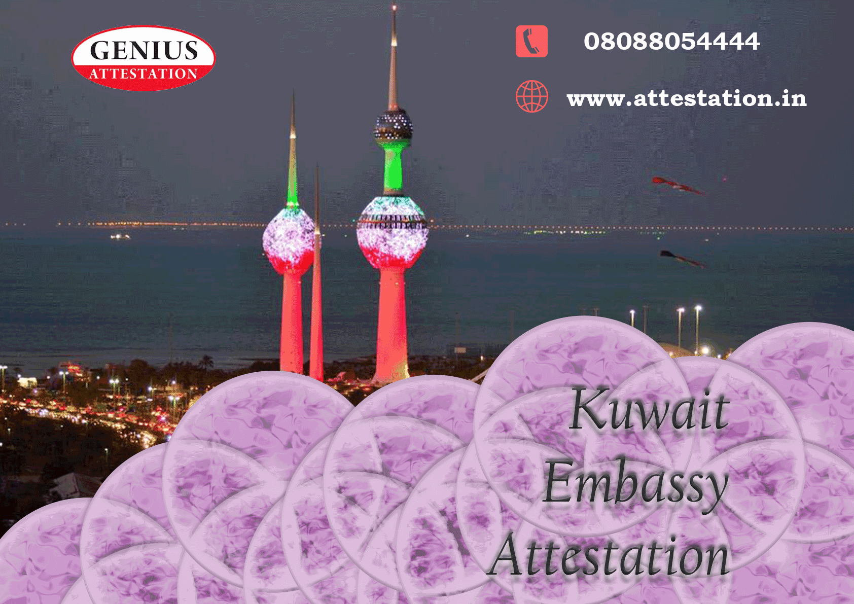 What is the procedure for Kuwait Embassy Attestation?