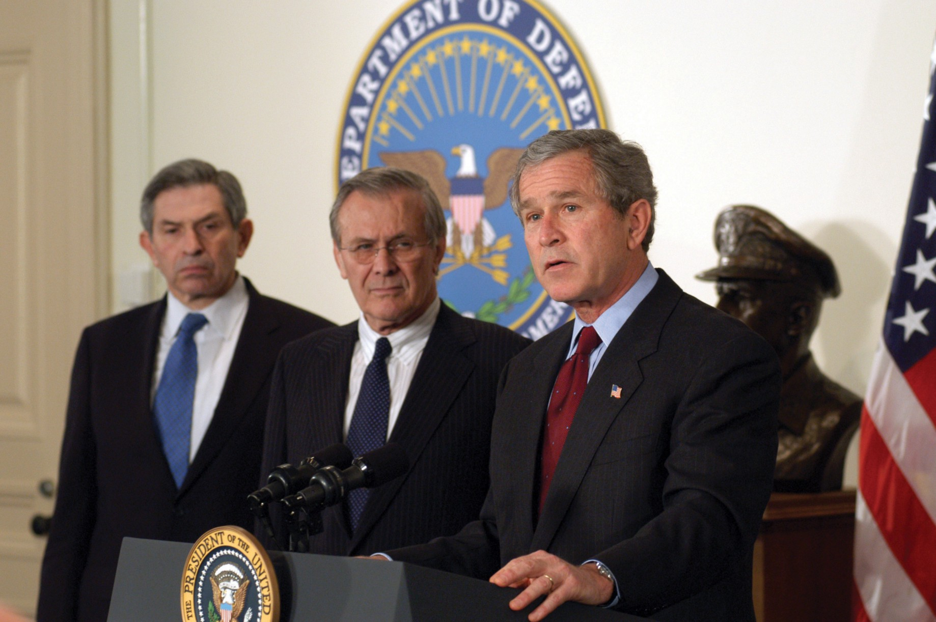 Bush Iraq Policy Summarized By Donald >> The Us Invasion Of Iraq A Symbiotic Model Of Groupthink And