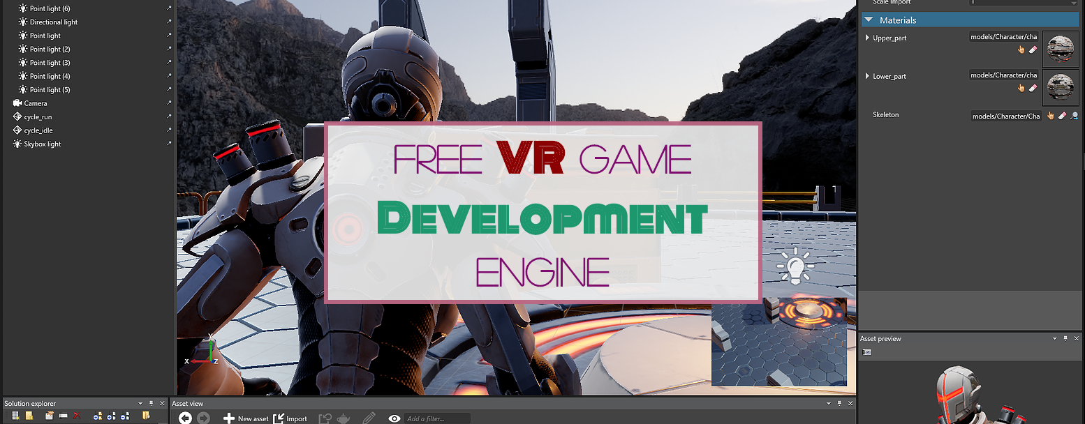 Check out this FREE Virtual Reality Game Development Engine