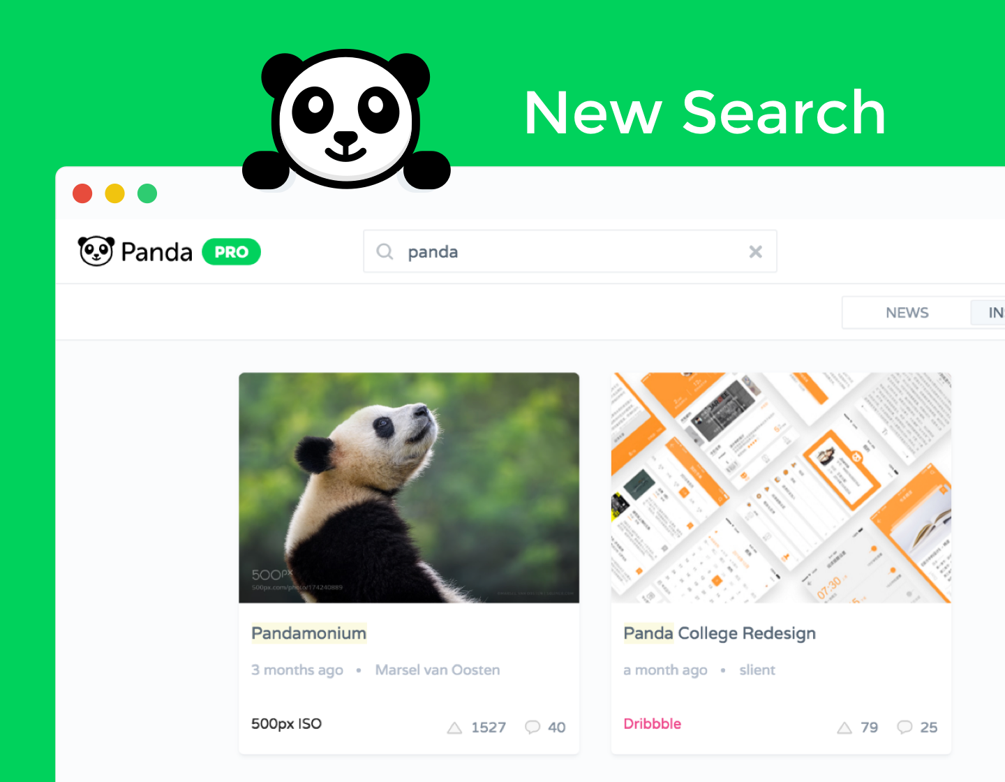 Introducing Panda Search - Panda - Medium