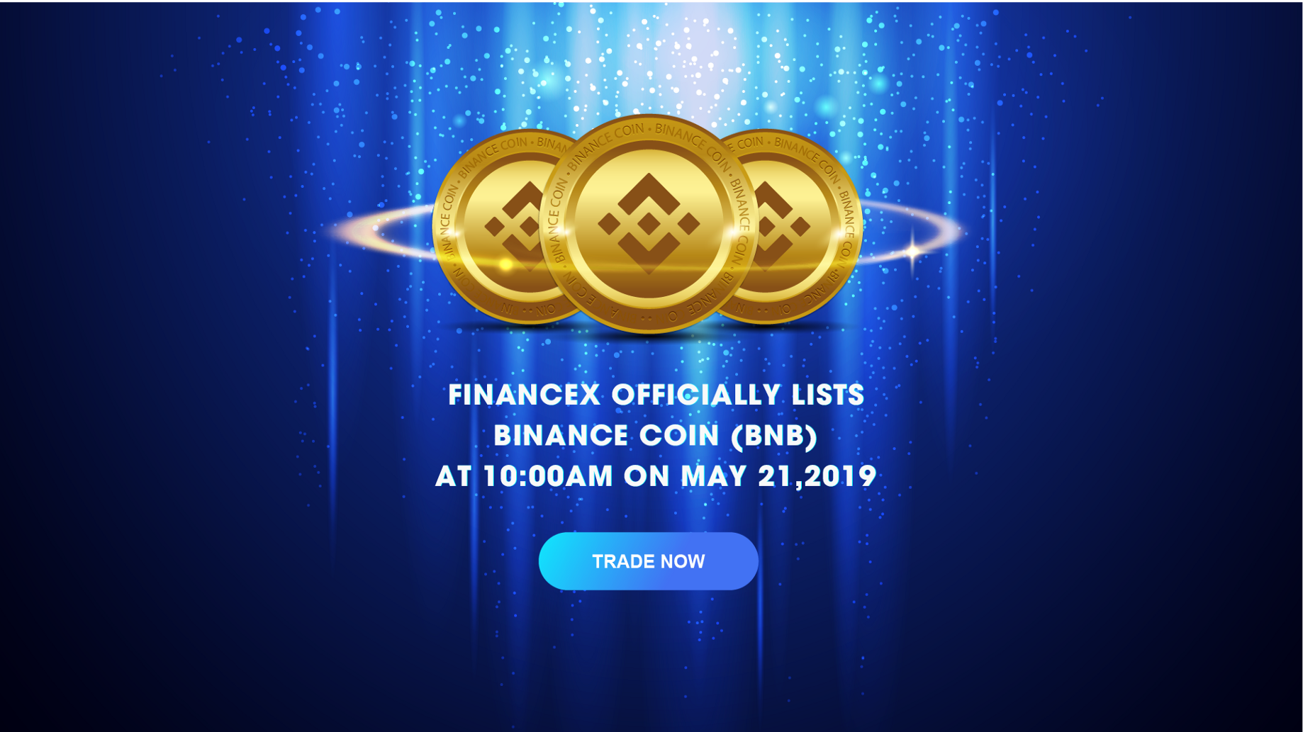 FinanceX lists BNB and supports Binance Chain in one day