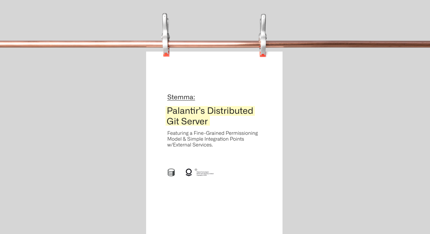 Stemma: Palantir's Distributed Git Server - Palantir Blog - Medium