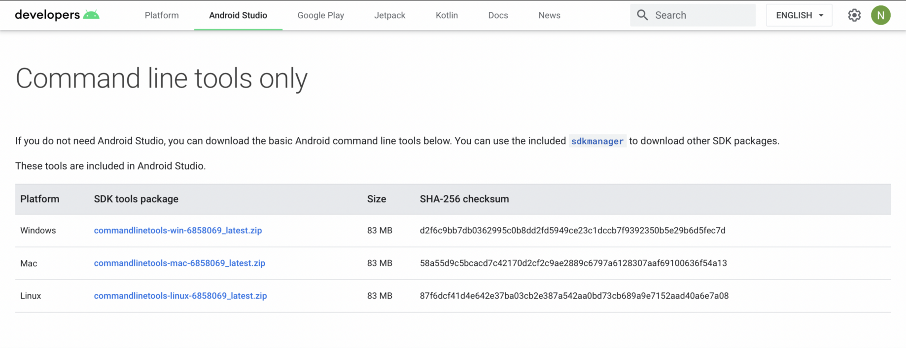 How to setup Android SDK without Android Studio.   by Nitish ...