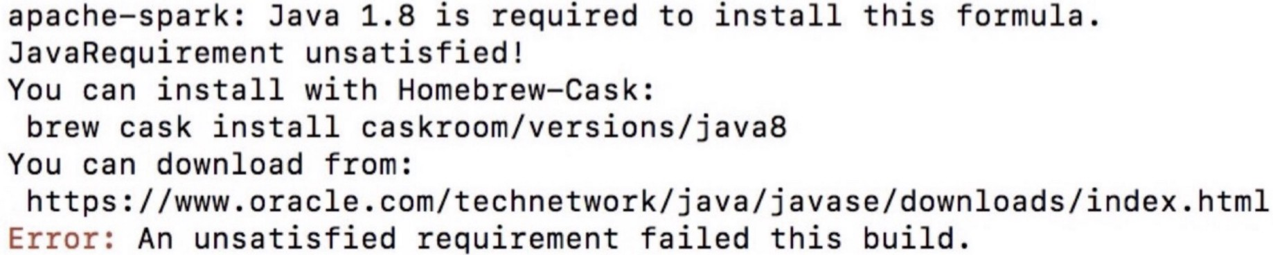 Install Spark/PySpark on Mac and Fix of Some Common Errors