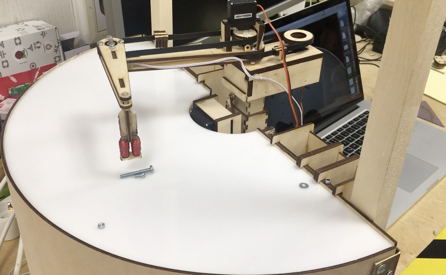 Robot Takes Care of Parts Sorting Automatically - Hackster Blog