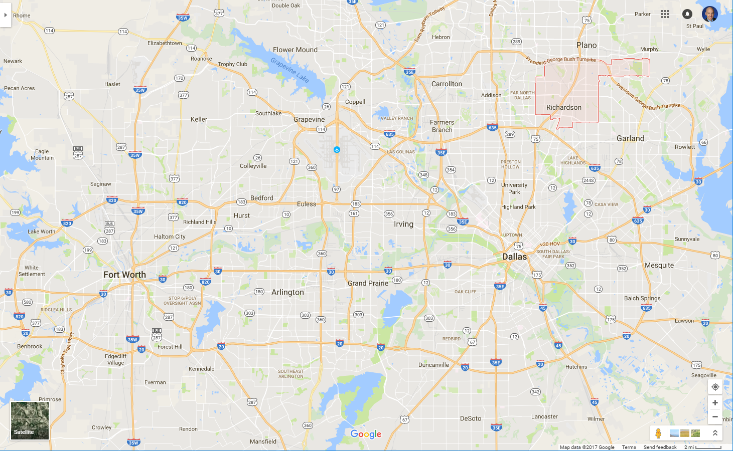 What's Valuable in Richardson? The Anatomy of a First Ring Suburb on map of lit, map of fort worth, map of sfb, map of bur, map of cha, map of buf, map of dallas, map of arlington, map of orf, map of rsw, map of fat, map of anc, map of irving, map of mke, map of pbi, map of xna, map of roc, map of mansfield, map of bdl, map of cae,