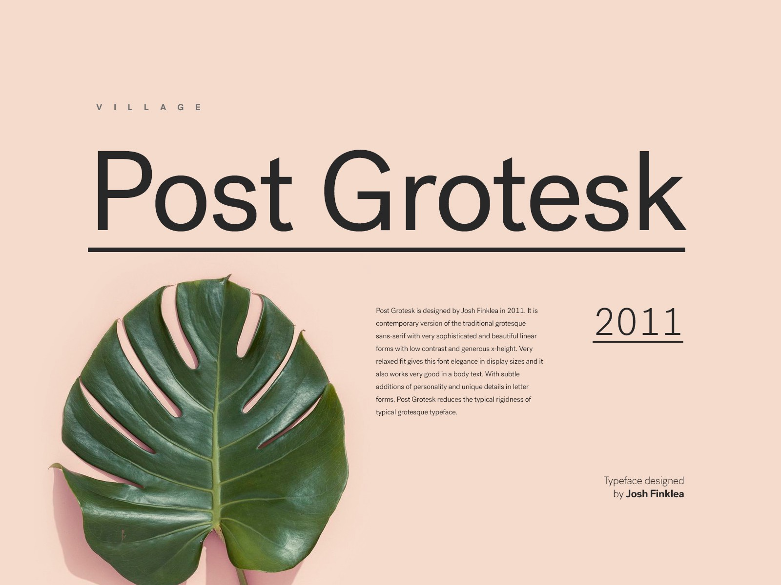 6 Great Contemporary Alternatives to Helvetica - Hrvoje Grubisic