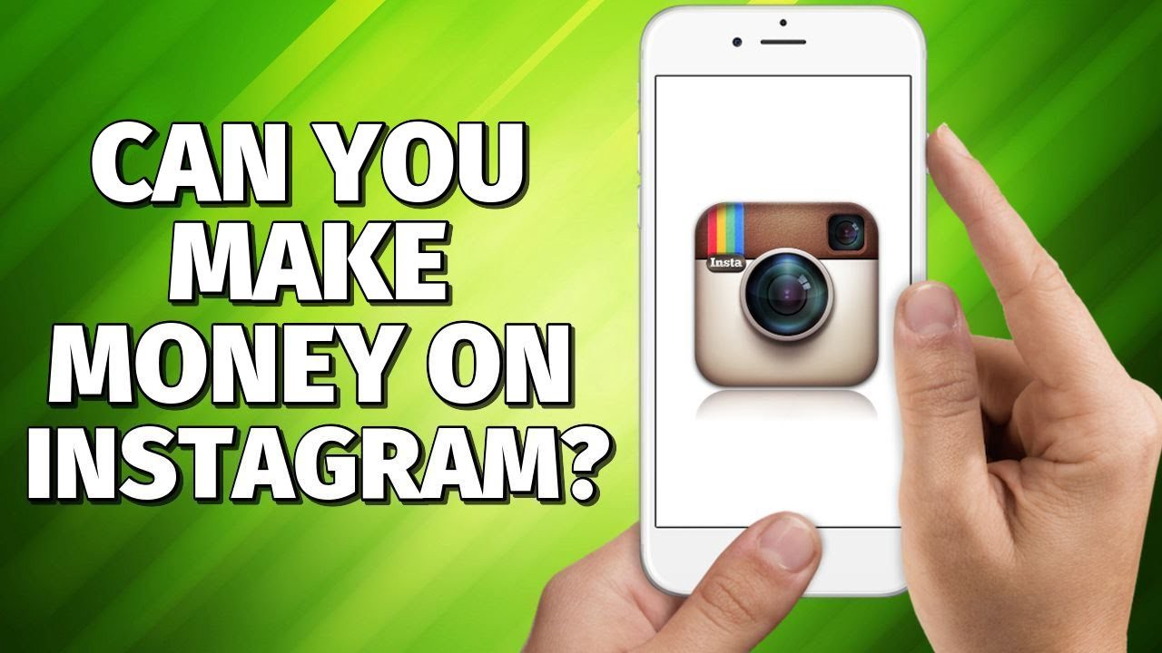 How to Make Money On Instagram in 2020 👉 Without 10k Followers! - YouTube