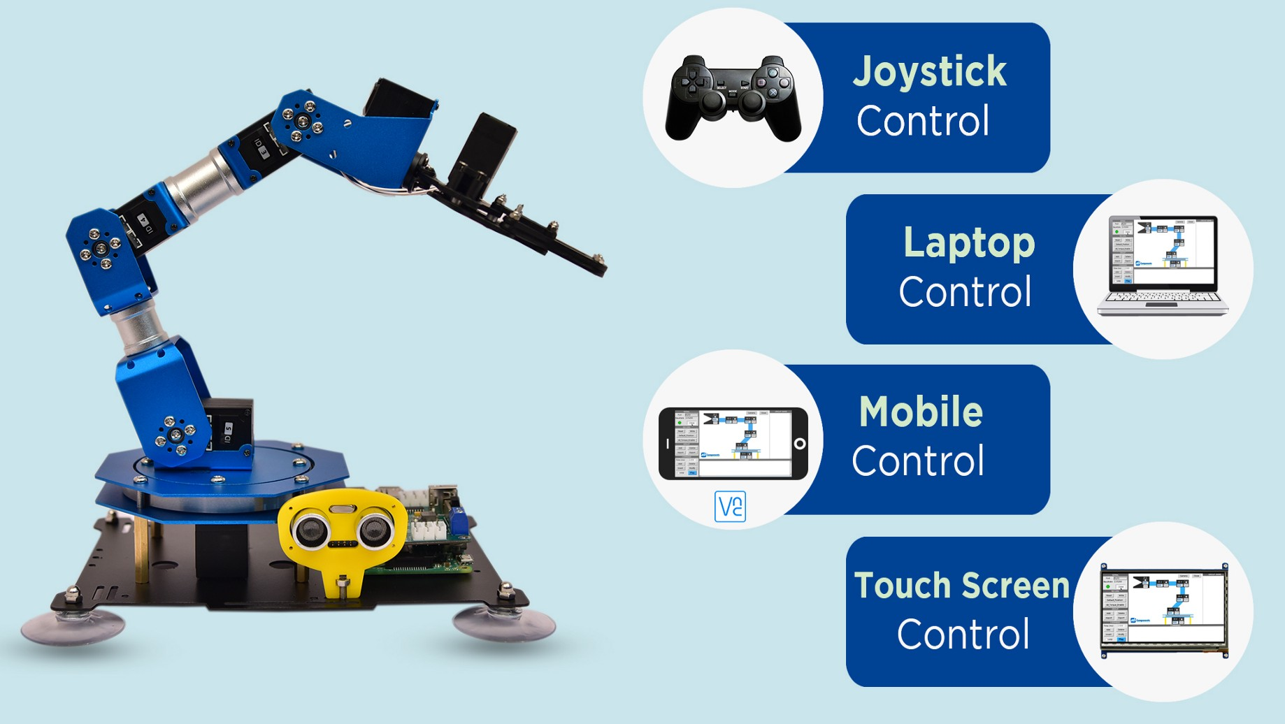 PiArm Is an Open Source, 6DOF Robotic Arm for the Raspberry Pi