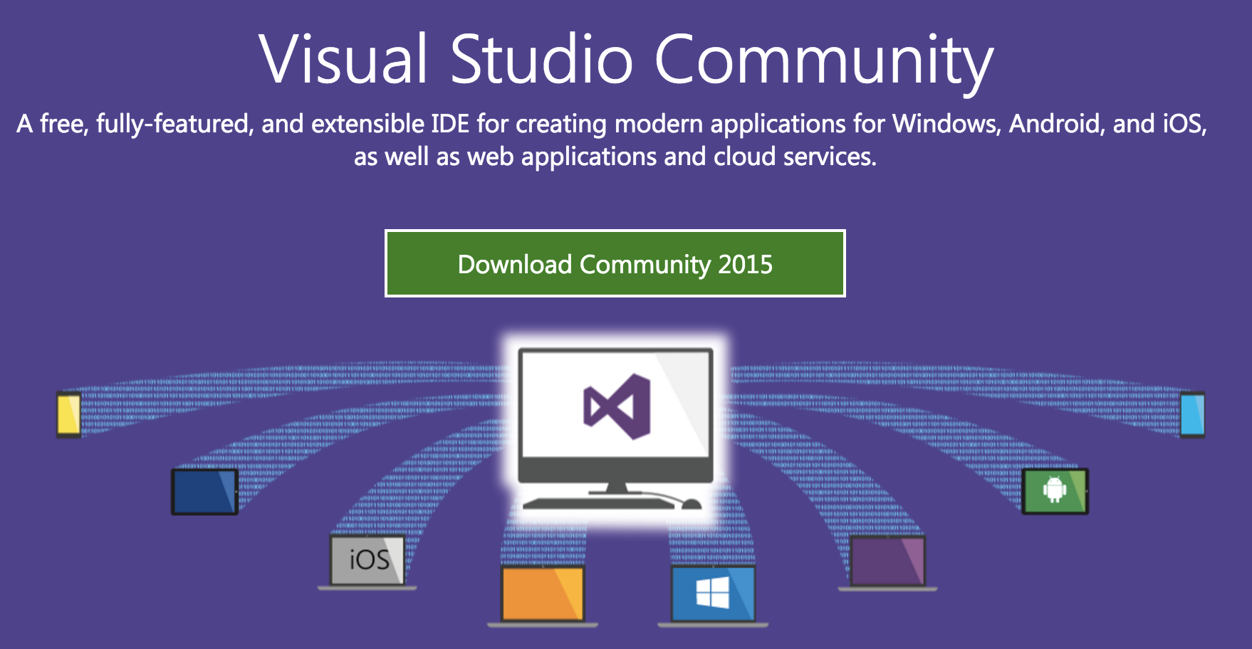 How to download Visual Studio Community 2015 ISO File Offline Install
