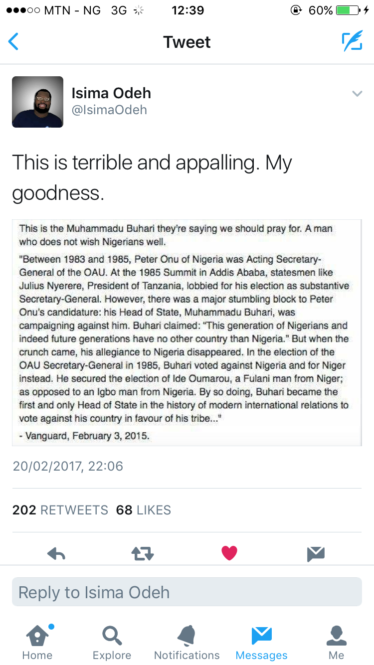 A Wig Snatch Intro: A Case of Buhari and Falsehood Herpes