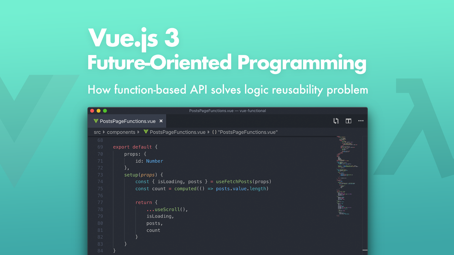 Vue js 3: Future-Oriented Programming - Bits and Pieces