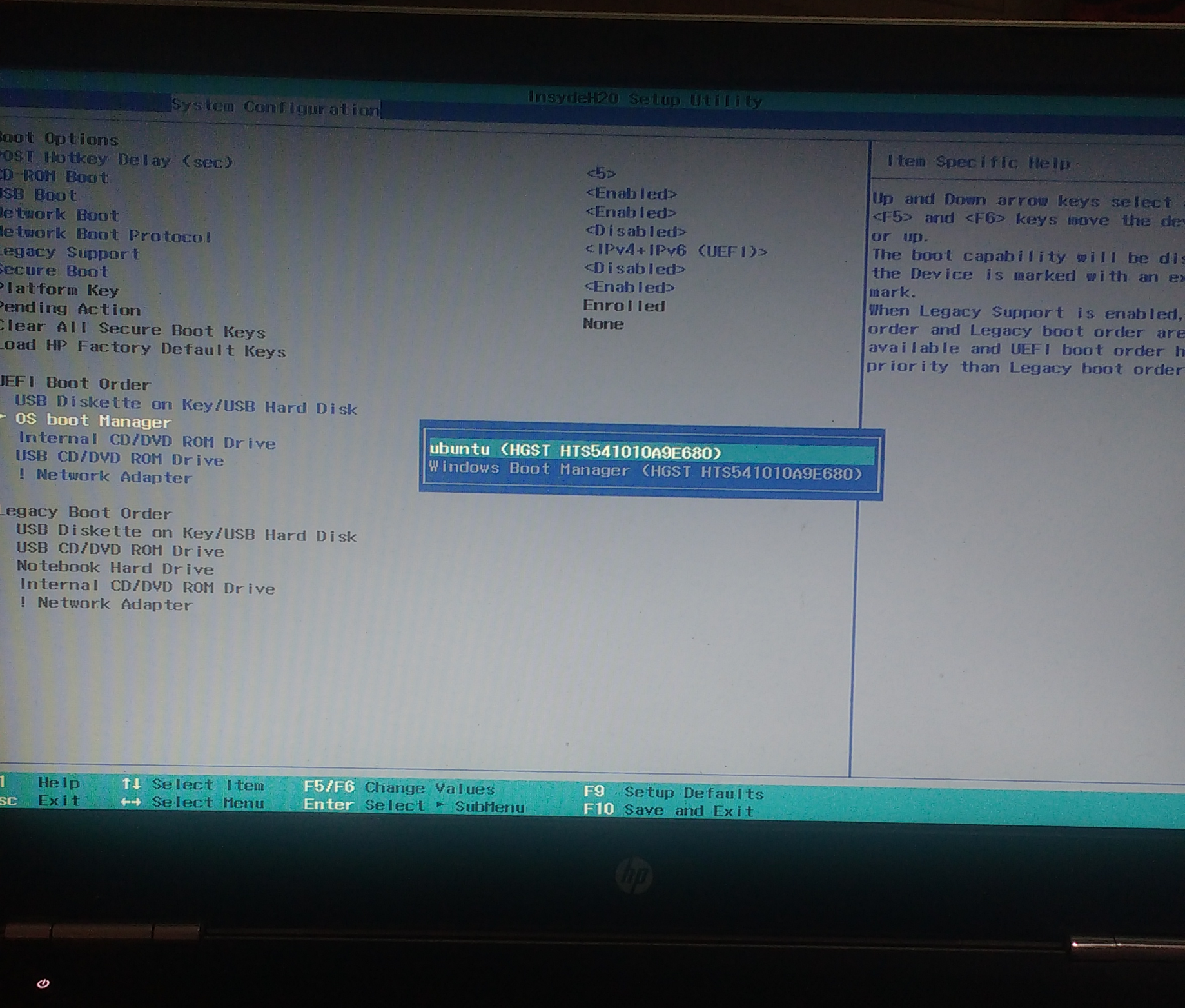 Lessons learnt while fixing a dual boot issue in HP Pavilion Laptop