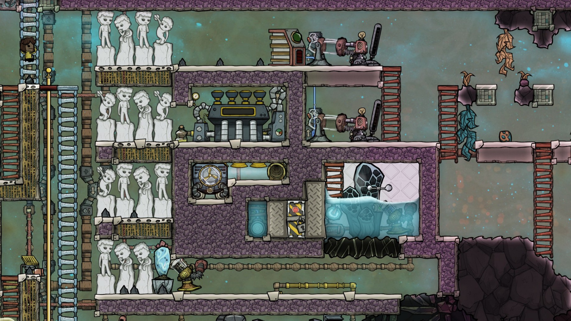 Taming The (Cool) Steam Geyser - Schematics Not Included - Medium