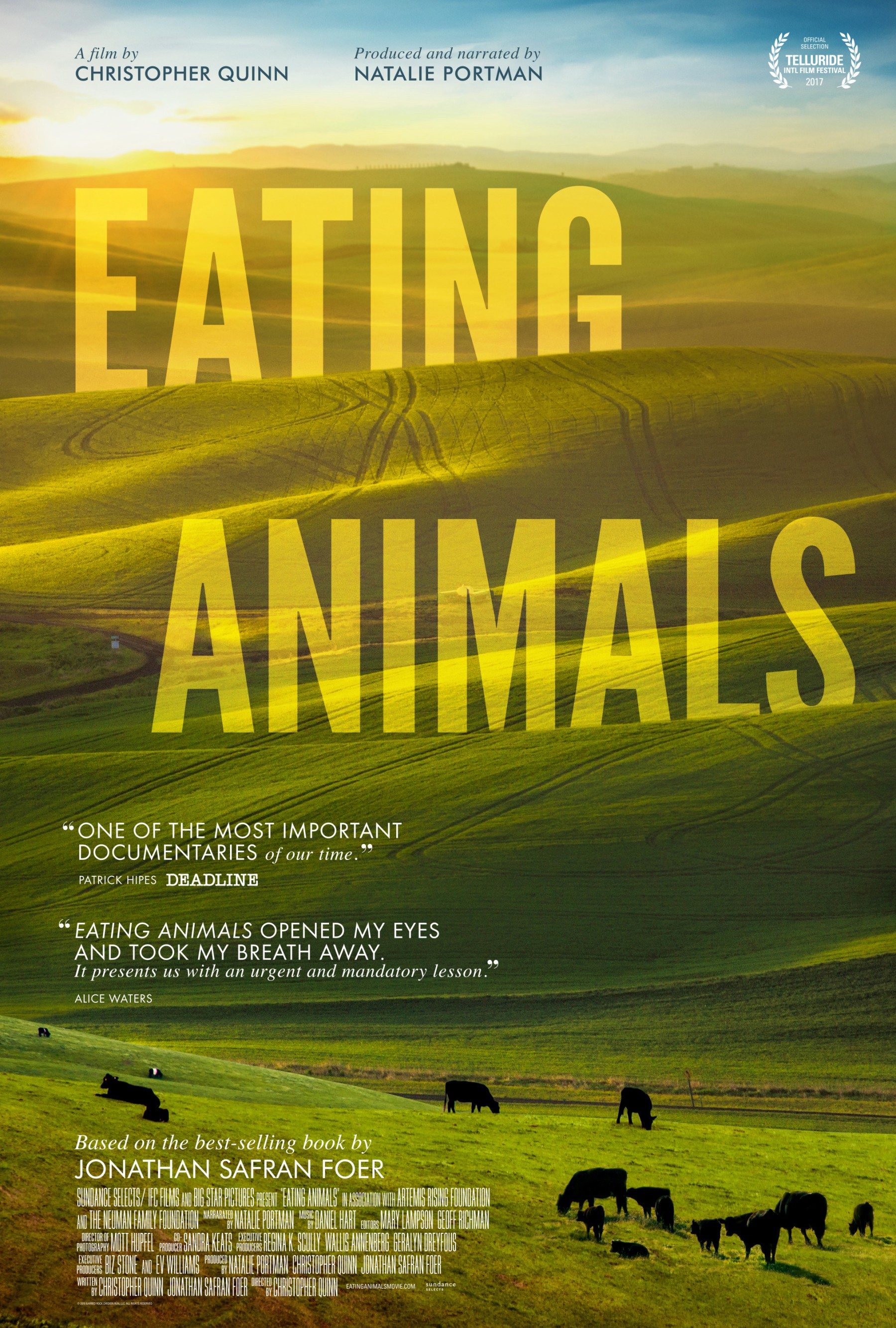 Eating animals: not your ordinary vegan-promotion food documentary