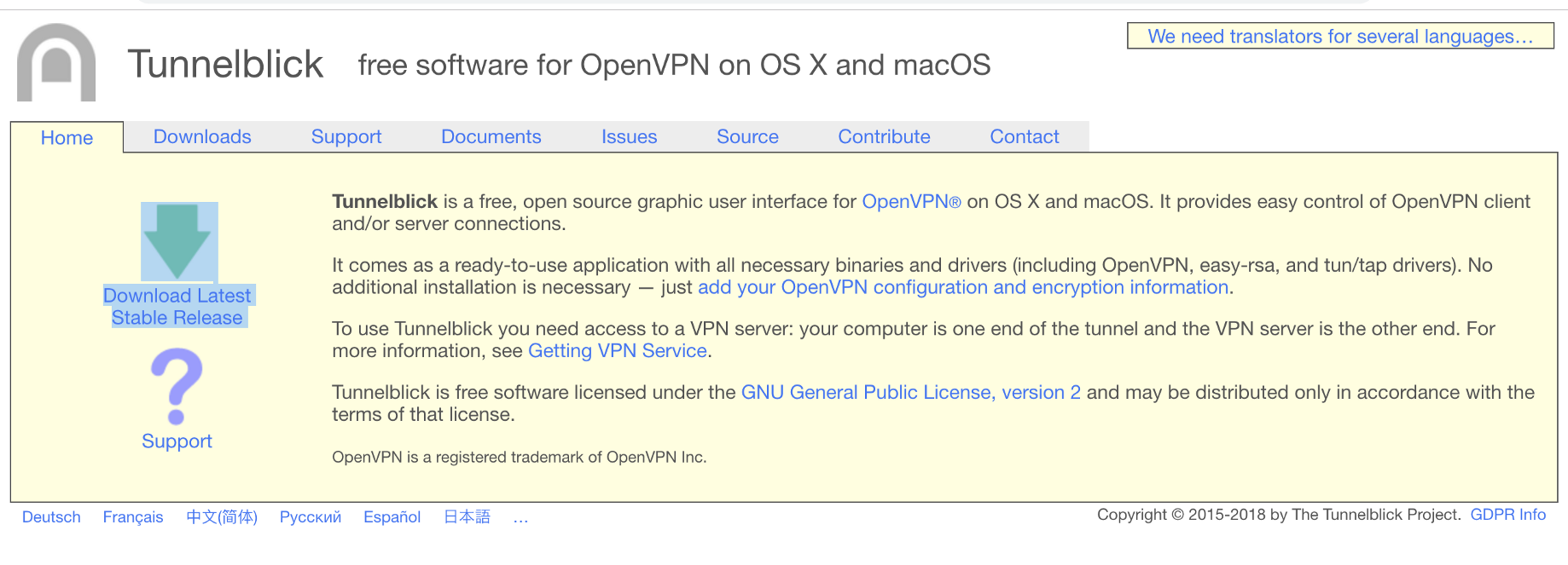 Connect the corporate networks from macOS using Sophos VPN and