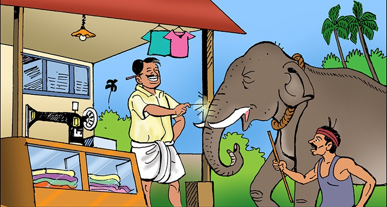 Elephant and the tailor - Katha Kids
