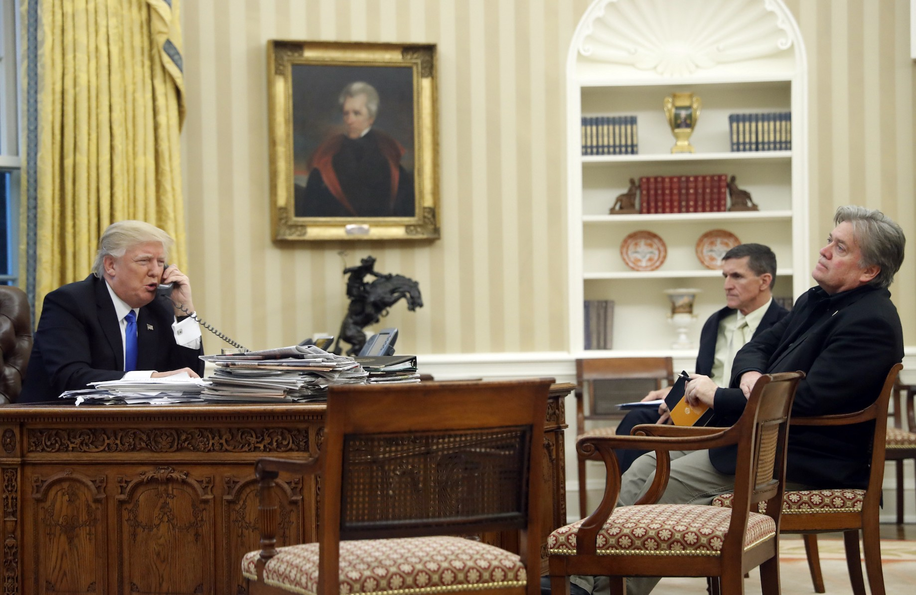 White House adds Bannon to national security meetings