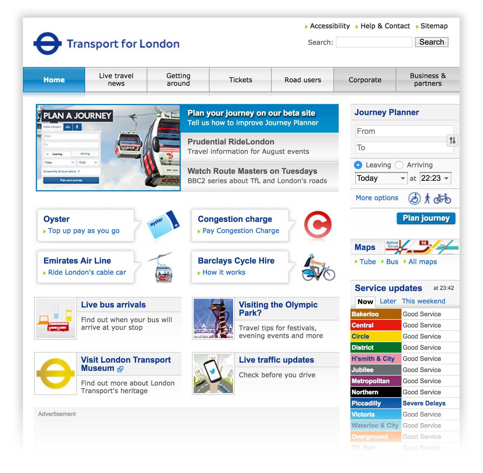 Designing a New Look and Feel for Transport for London   by Will ...
