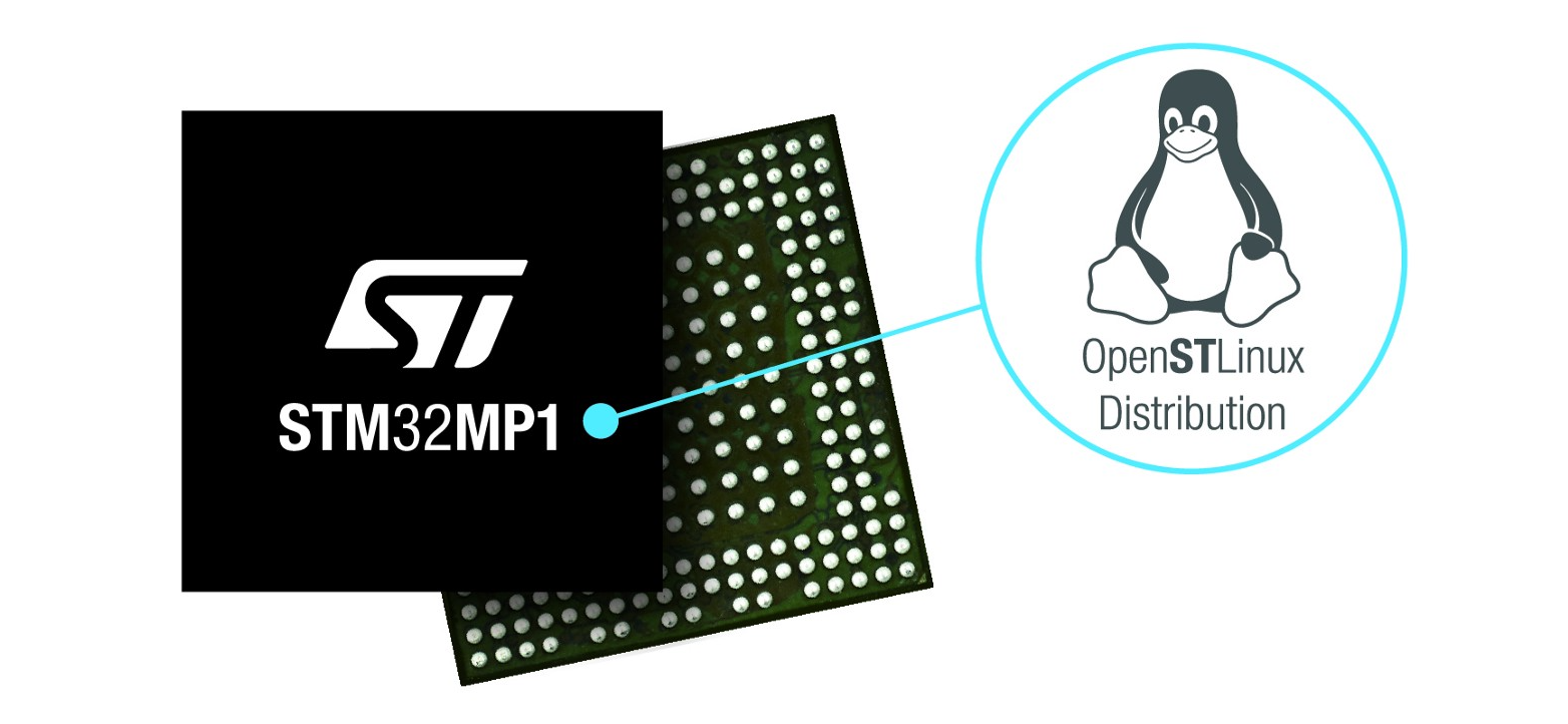 STMicroelectronics Reveals First Multi-Core STM32MP1 Microprocessor