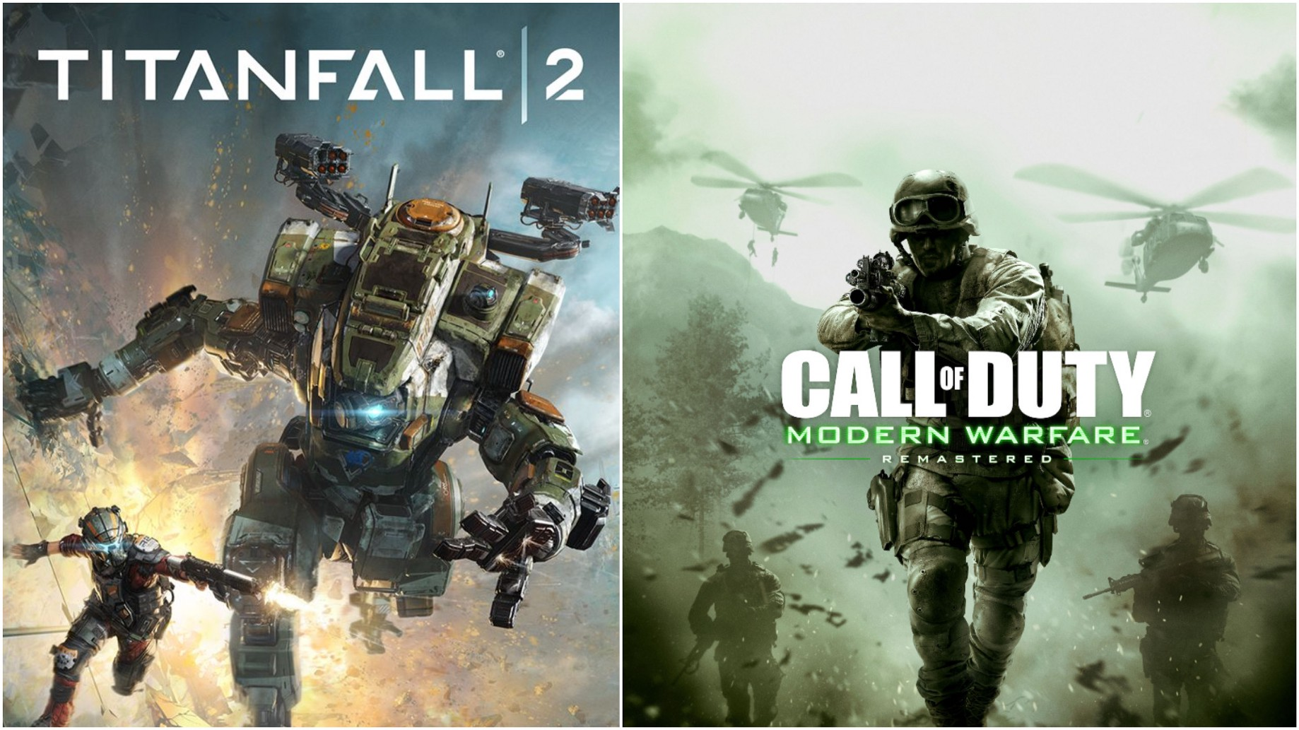 Titanfall 2 and Modern Warfare Remastered: What's Old is New Again