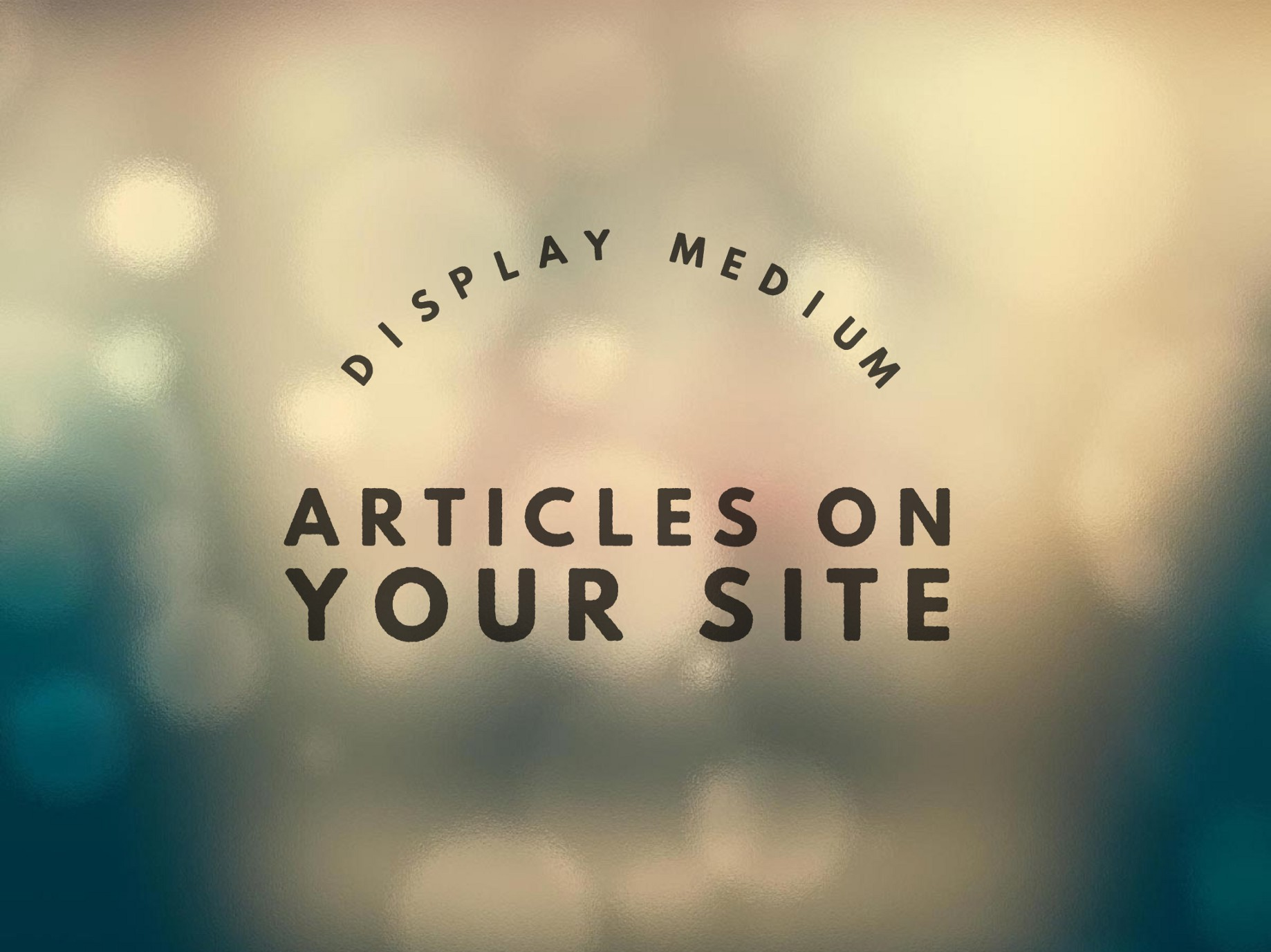 Display Medium articles on your site  - Jason Matthew - Medium