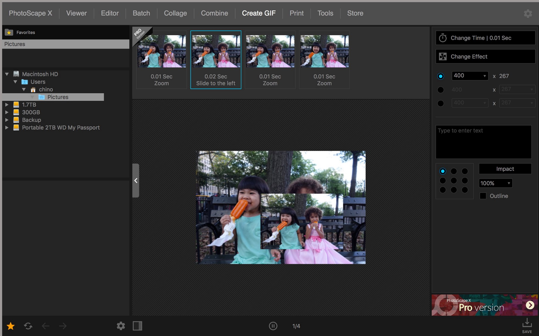 My Favorite GIF App Features: Photoscape X for Mac - Chino Wong - Medium
