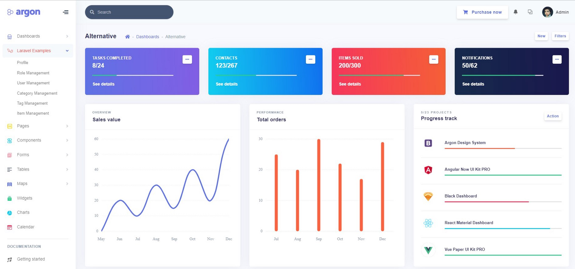6 Web Apps You Can Start Building Right Away with Argon Dashboard