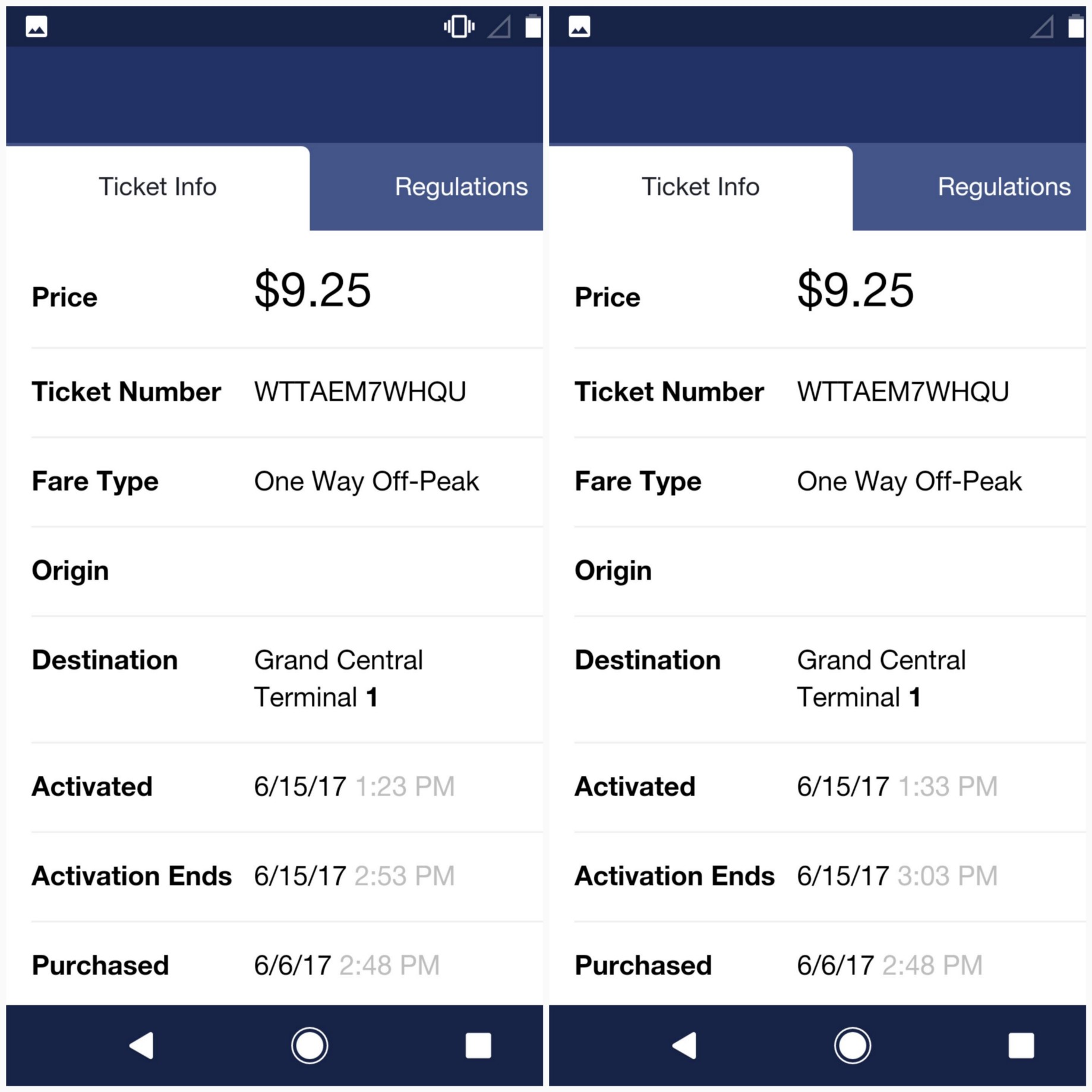 Full Disclosure: Global Transportation Mobile Ticketing Service