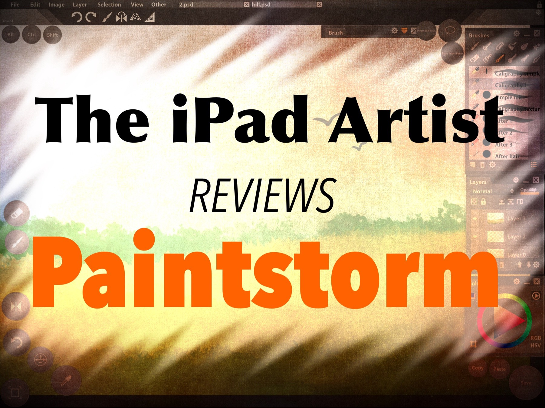 Review of Paintstorm Studio for the iPad - The iPad Artist