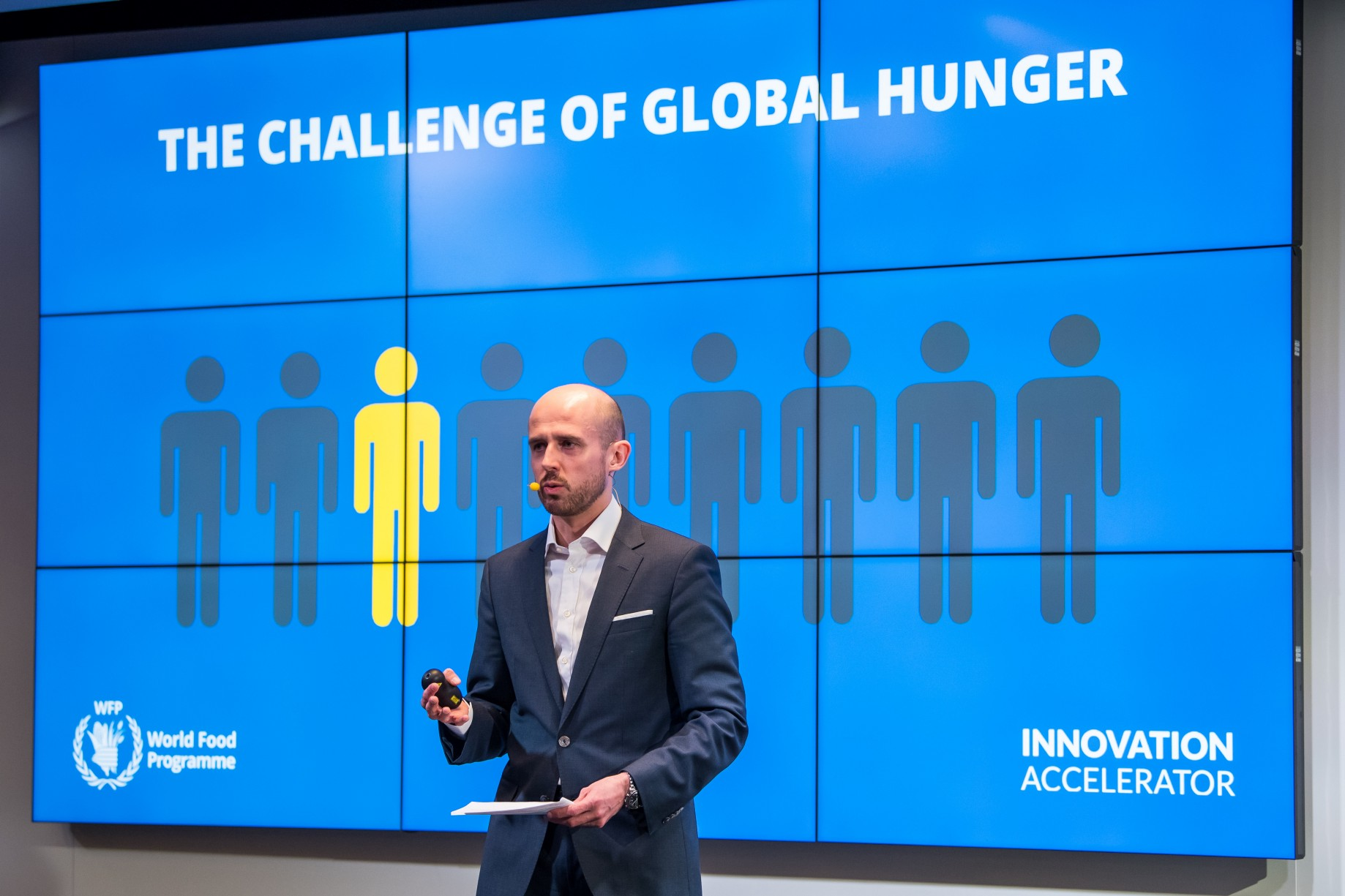 World Food Programme and Cargill team up with innovators to