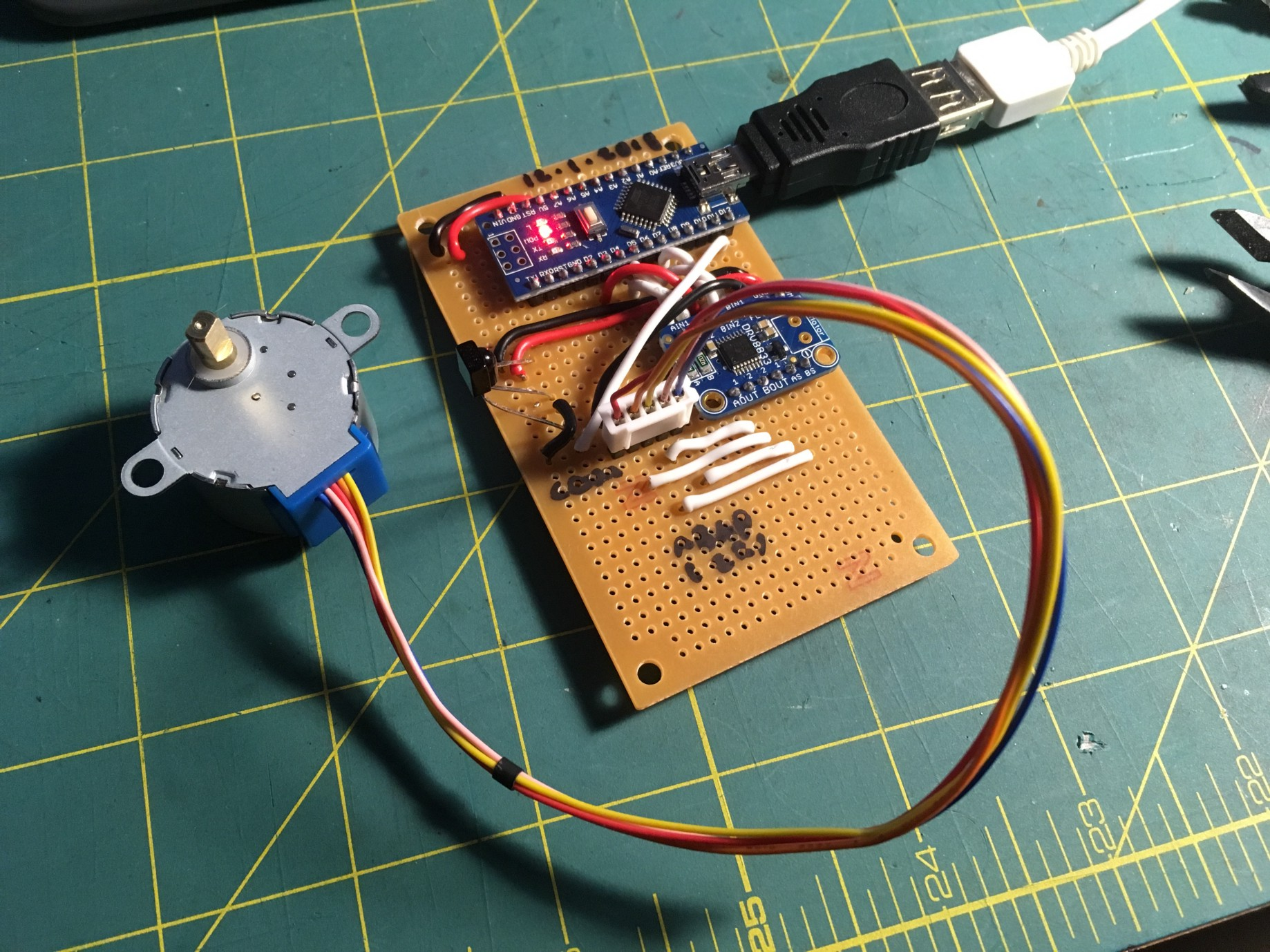 Add Motorized Volume Control to Your Stereo with an Arduino