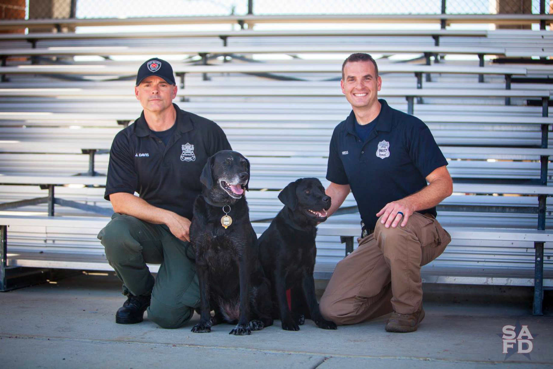 d3baec05ffb6 Sniffing out crime: Dogs assist SAFD with arson investigations