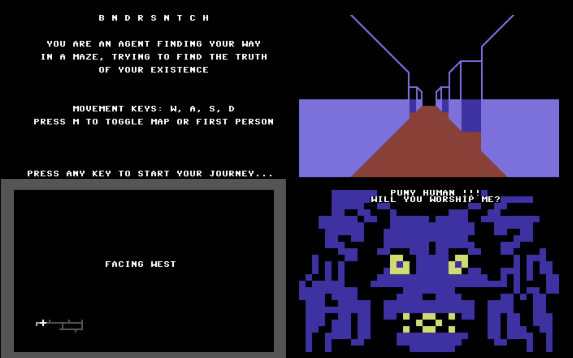 Bandersnatch for C64 v0 1: the story so far - Simon Butler - Medium