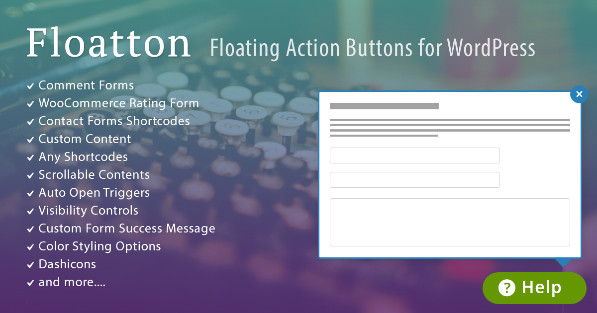 The First-Ever WordPress Floating Action Button Plugin is here!