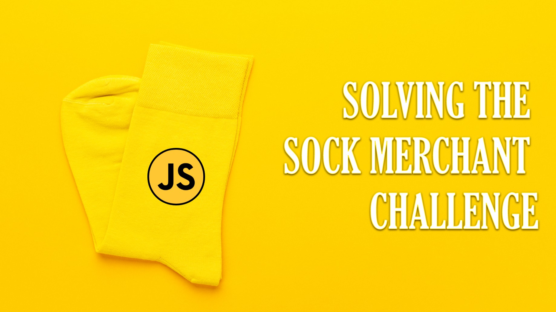 Video] Sock Merchant Hacker Rank Javascript Solutions
