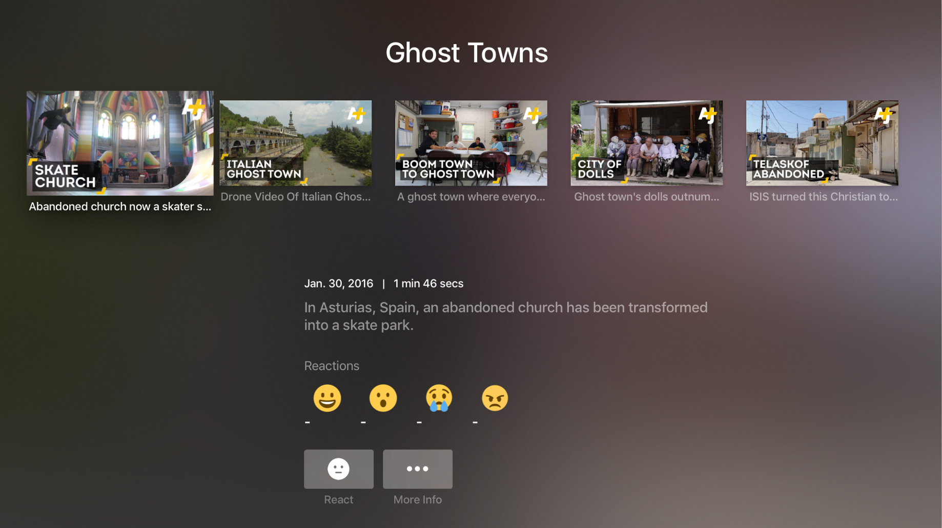 AJ+ on Apple TV: Migrating 'Mobile First' Experiences to the