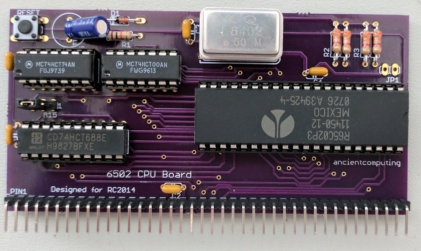 A 6502-Based Expansion Board for a Z80-Based Homebrew Computer