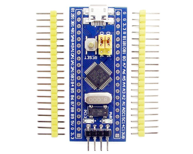 Programming an STM32F103 board using its USB port (Blue Pill)