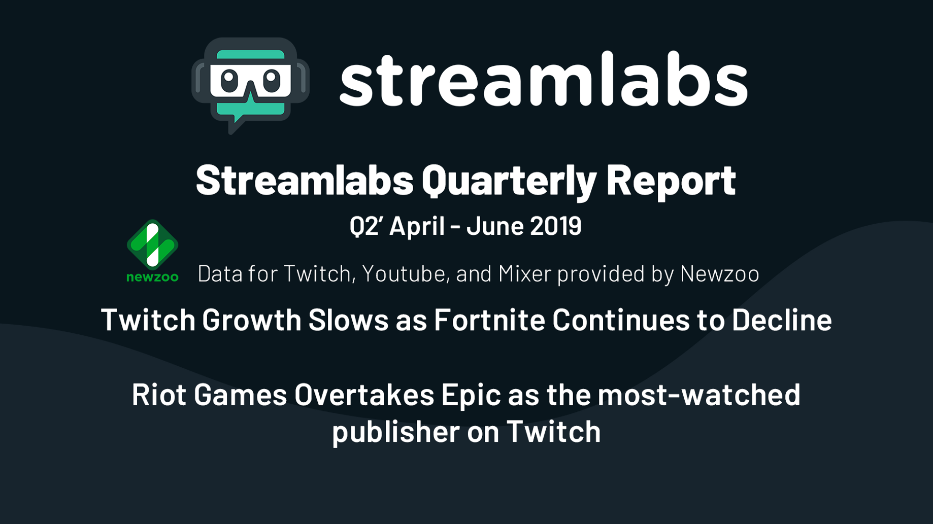 Streamlabs Q2 2019 Live Streaming Industry Report - Streamlabs Blog